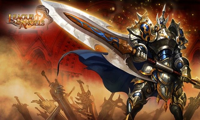 League of Angels Hero Zweihander