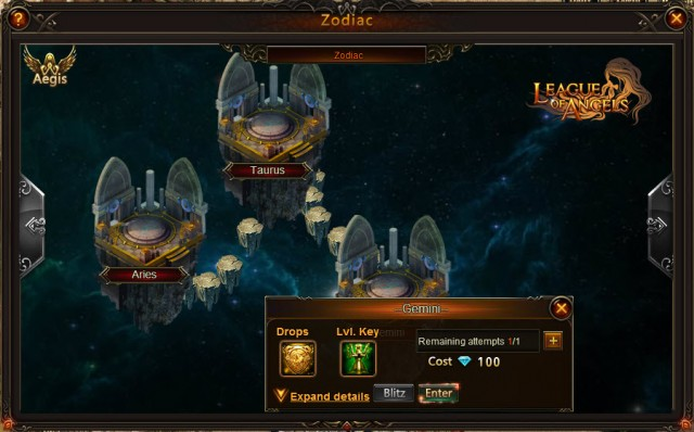 League of Angels Zodiac