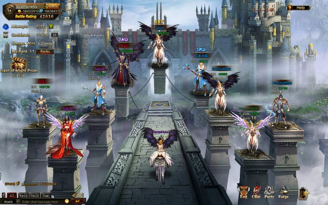 League of Angels Clash of Might