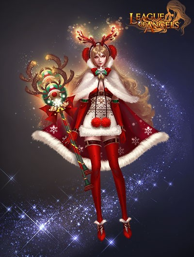 League of Angels Santa Clothes