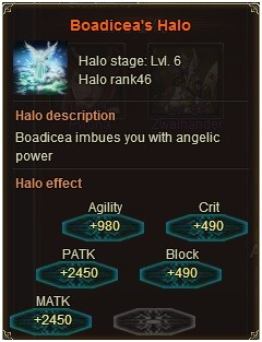 League of Angels Halo
