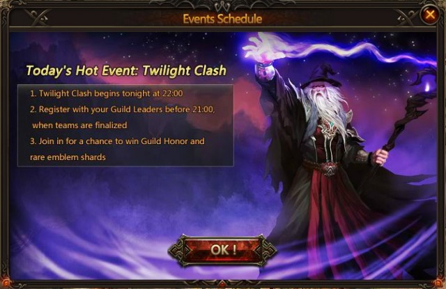League of Angels Twilight Clash Introduction