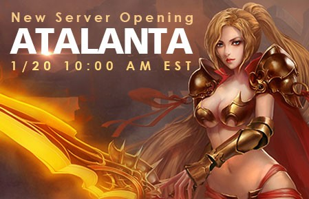 League of Angels New Server Atalanta
