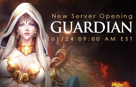 League of Angels New Server Guardian