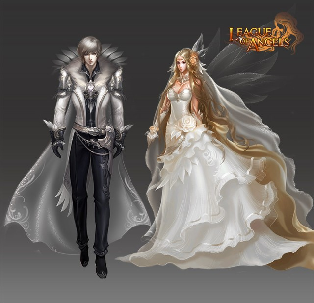 League of Angels Wedding Garb
