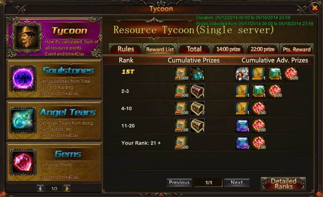 League of Angels Tycoon