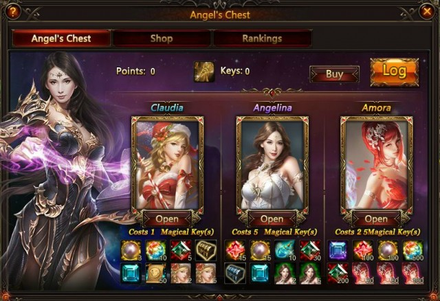 League of Angels Angels Chest