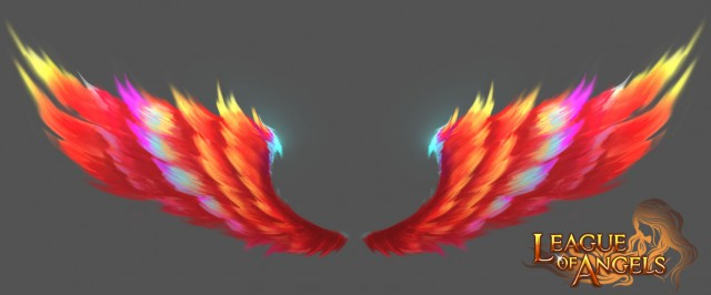 League of Angels Phoenix Wings