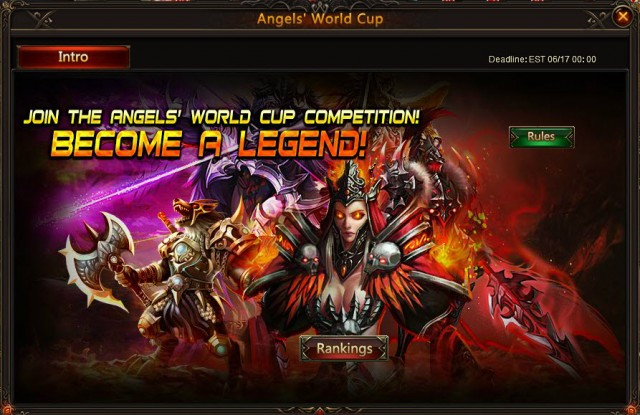 League of Angels World Cup