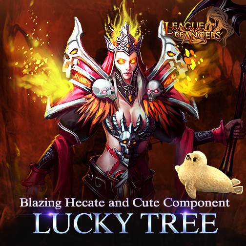 Lucky Tree: Blazing Hecate and More Components-League of