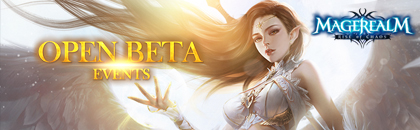 Magerealm Open Beta Events