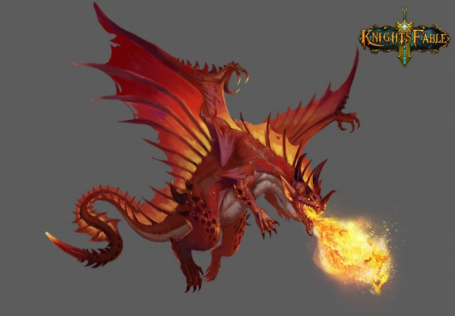 Knight's Fable_beast_Firefury Dragonlord