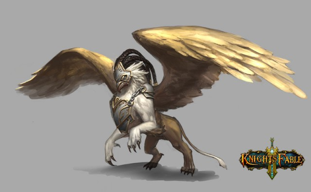Knight's Fable_beast_Gilded Griffin