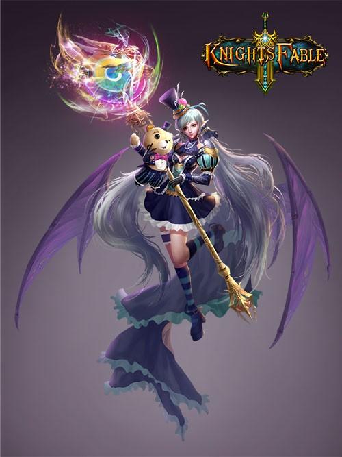 Knight's Fable_Magi