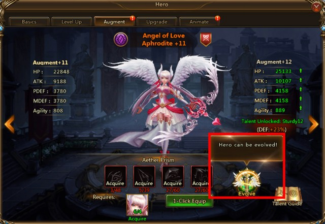 heroes evolved how to become pro