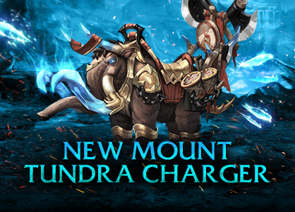 New Mount in Ice Age - Tundra Charger