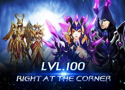 Lvl.100 right at the corner!